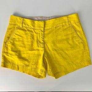 J Crew | Broken In Chino | Yellow | Size 6